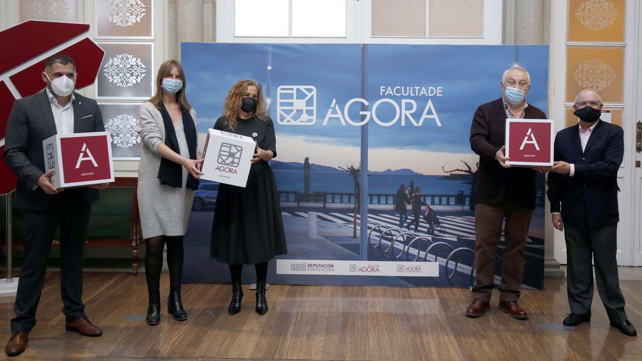 Presentación de la Facultade Ágora, un proyecto de la Diputación de Pontevedra para formar a políticos y técnicos