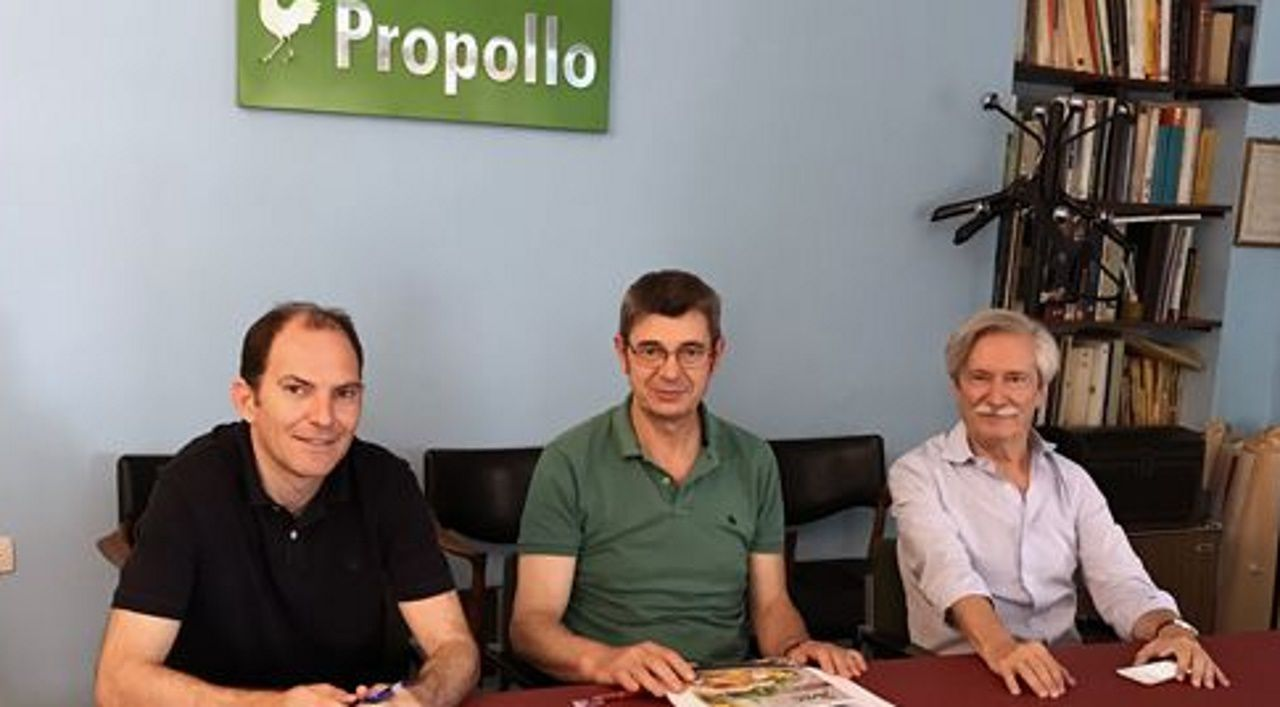 Reunión de Propollo y UPA para analizar el convenio con Mercosur