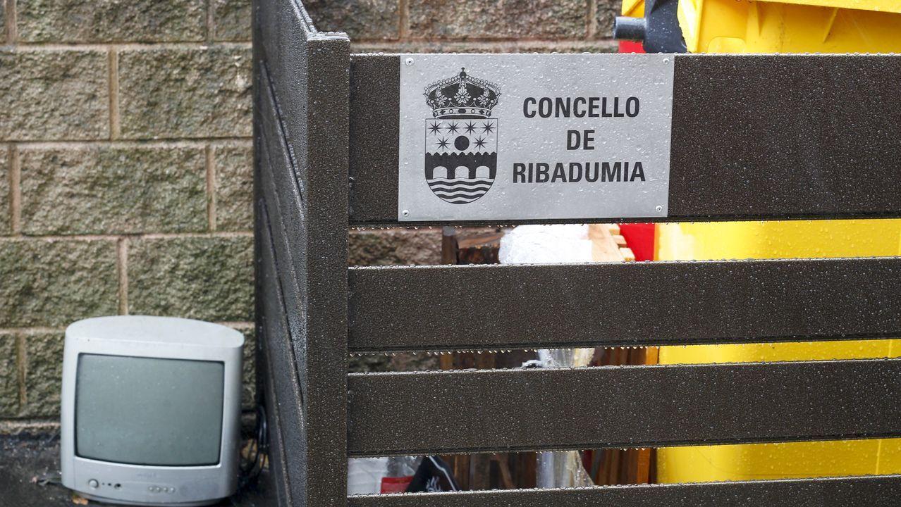 Las imágenes del partido Ribadumia contra Choco