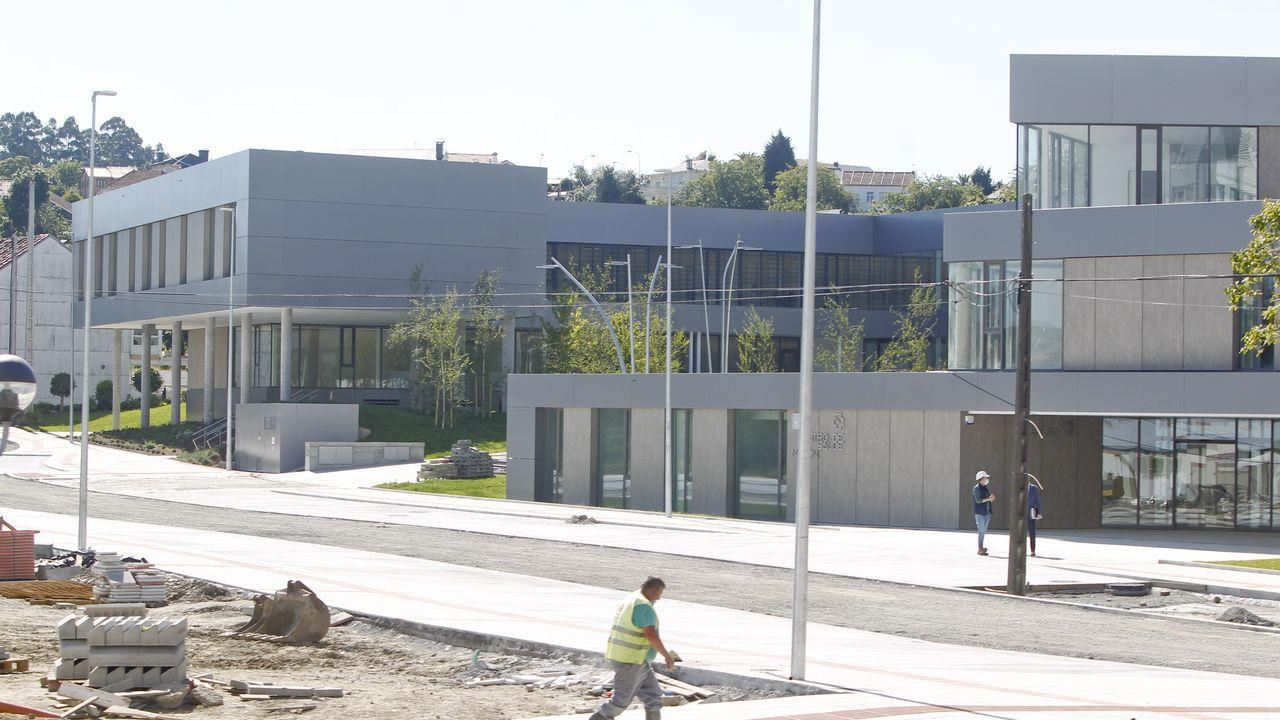 El Rali Cidade de Narón debuta en la Copa de España de Ralis de Asfalto.Nuevo centro de salud