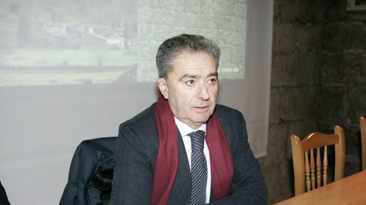 El alcalde de Xunqueira de Ambía, José Luis Gavilanes