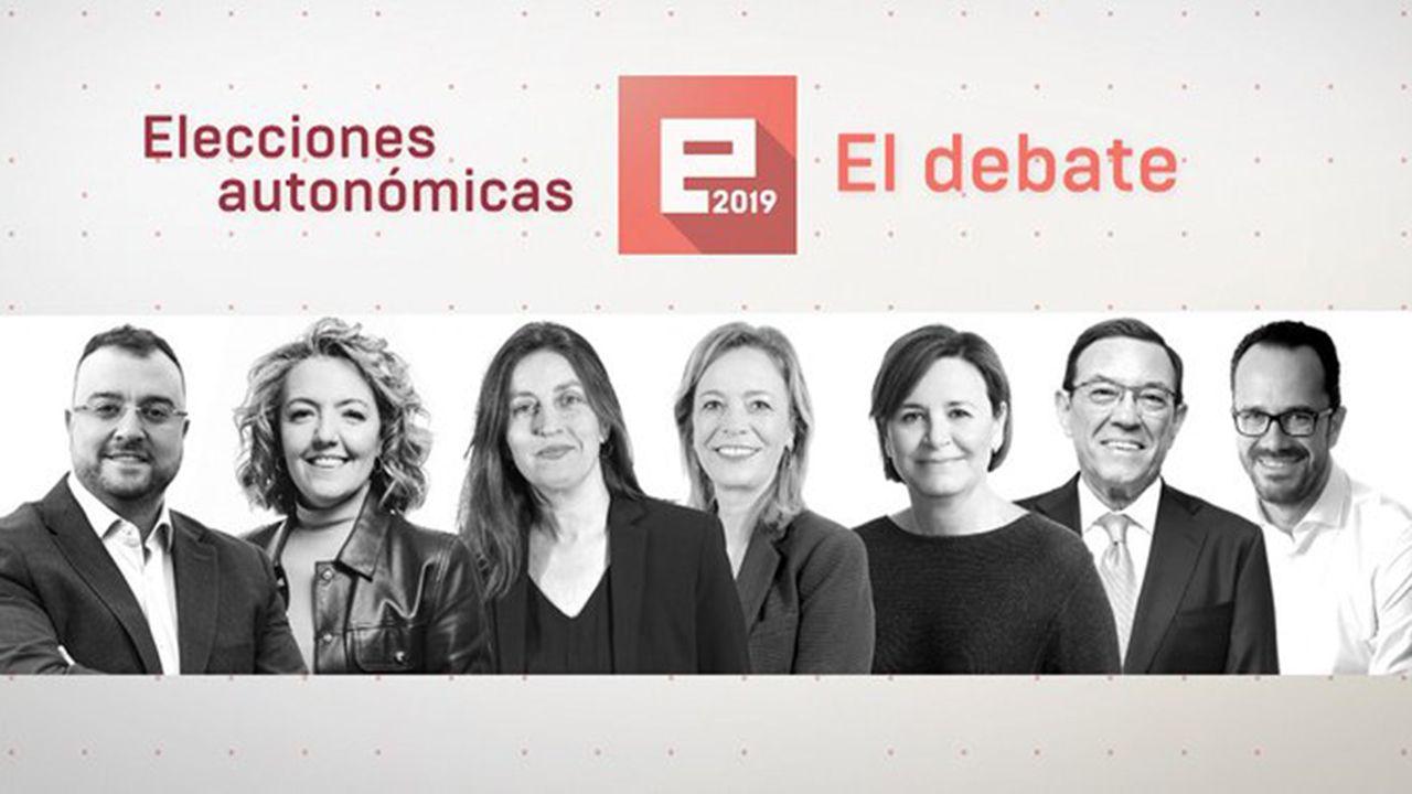Ana Pastor y Casado.Los candidatos a la presidencia del Principado en el debate de TPA