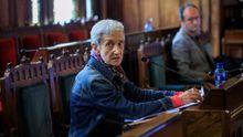 La consejera de Educación, Carmen Suárez, comparece ante la comisión de estudio de la gestión de la crisis sanitaria de la Junta General del Principado