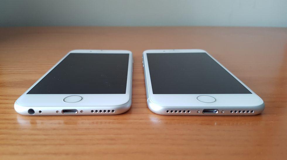 Comparamosel iPhone 7 y el iPhone 6s