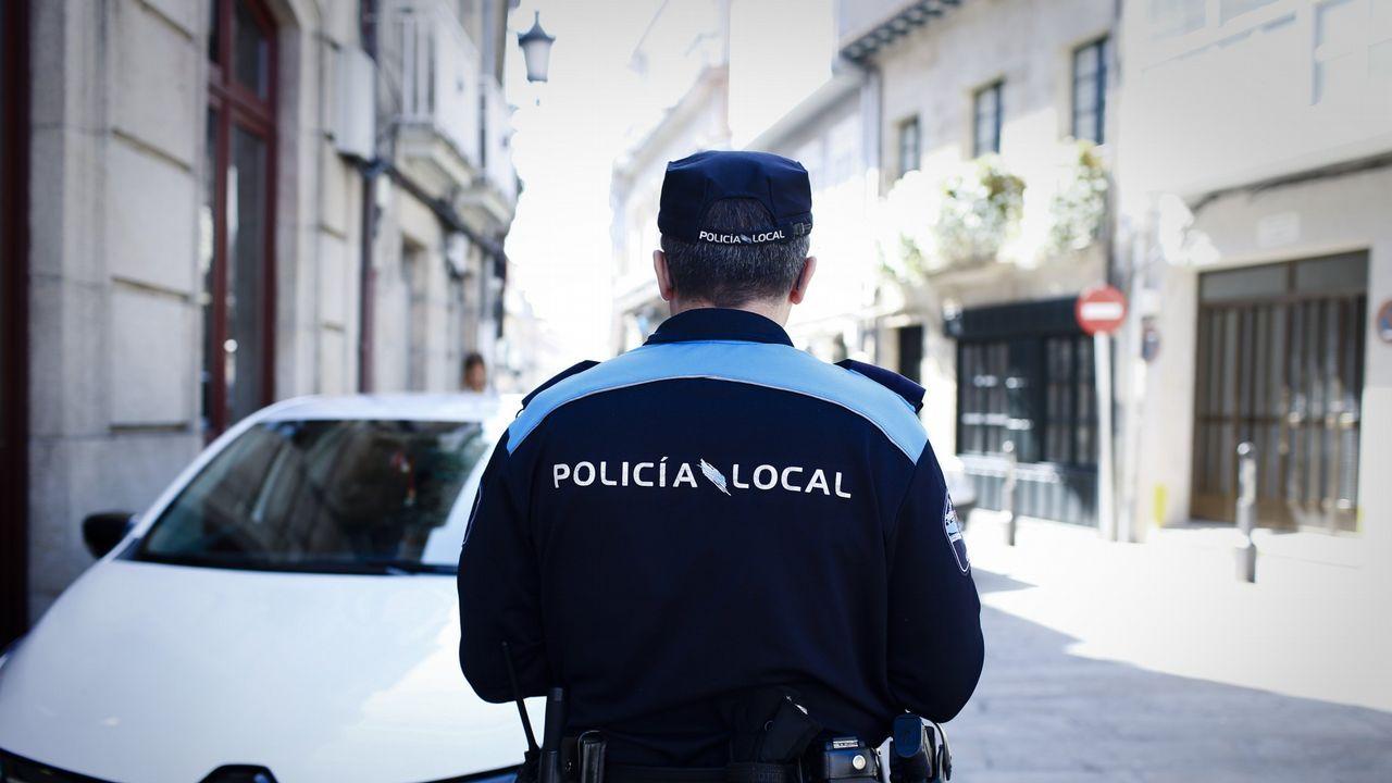 arco, Oviedo.La exalcaldesa de La Muela, María Victoria Pinilla, en una imagen del 2016