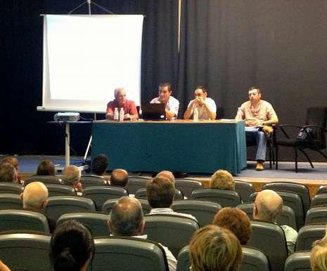 La reunión de emigrantes retornados celebrada el miércoles en Foz.