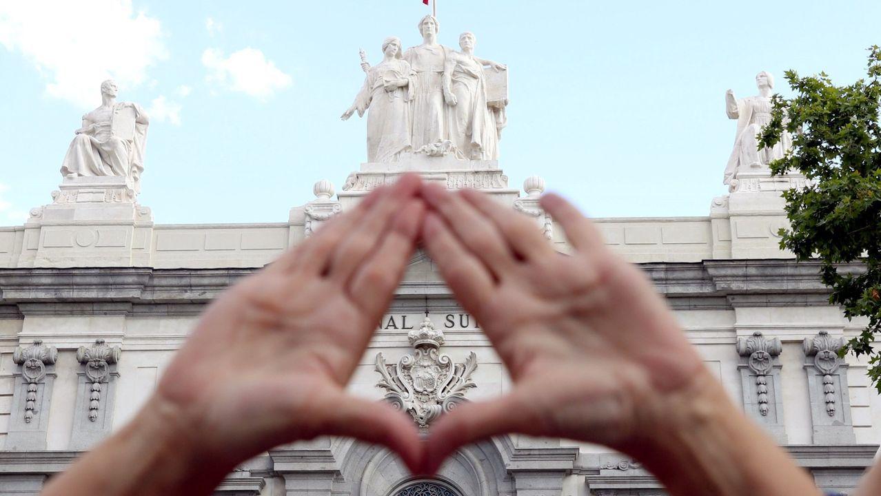 Concentracón en Barcelona contra la llamada Manada de Manresa