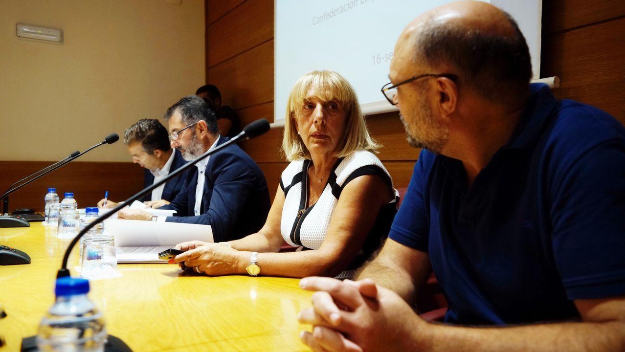 Los radares que más multan en Ourense.En Ourense, Gonzalo Pérez Jácome (derecha) es el sucesor en el cargo de Jesús Vázquez (izquierda)