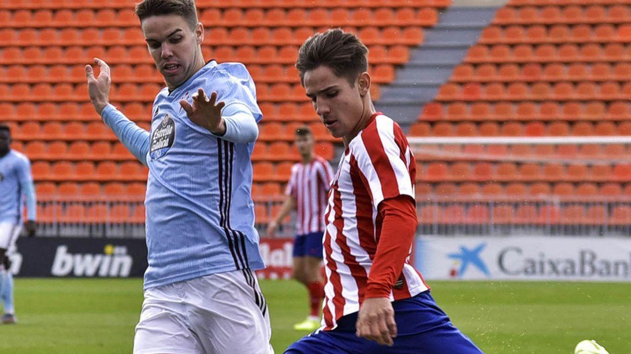 Las imágenes del Las Palmas Atlético - Racing de Ferrol