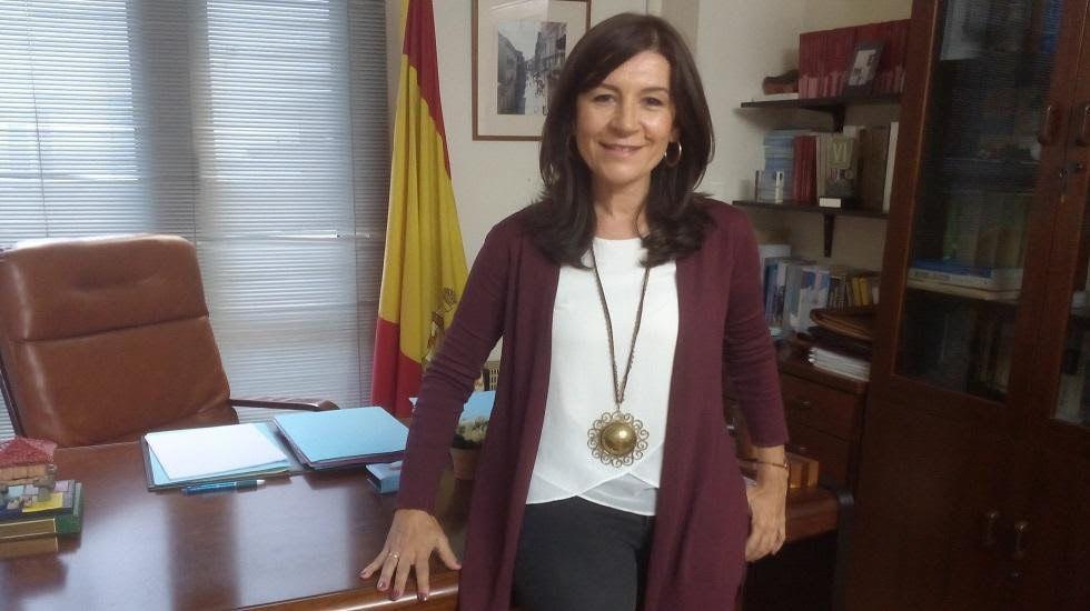Carmen Rodríguez Maniega, presidenta del PP Avilés.Carmen Rodríguez Maniega, presidenta del PP Avilés