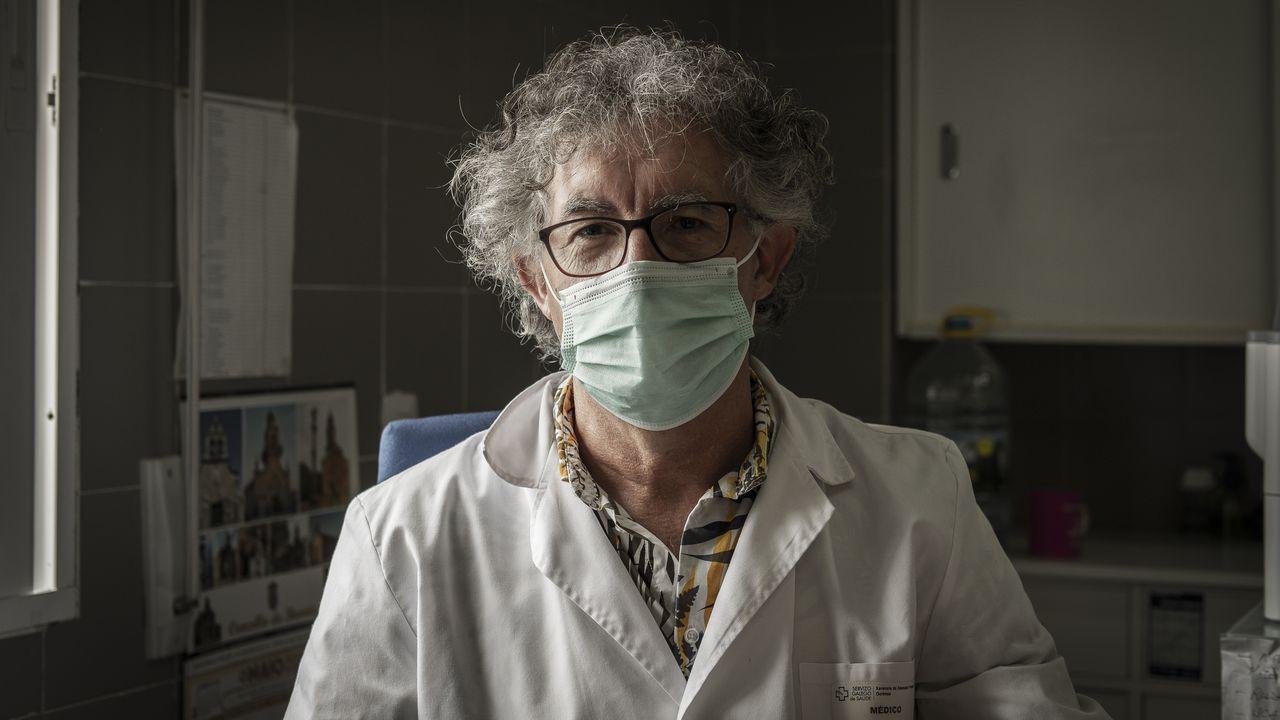 Xosé Dobarro é médico no centro de saúde de Beariz