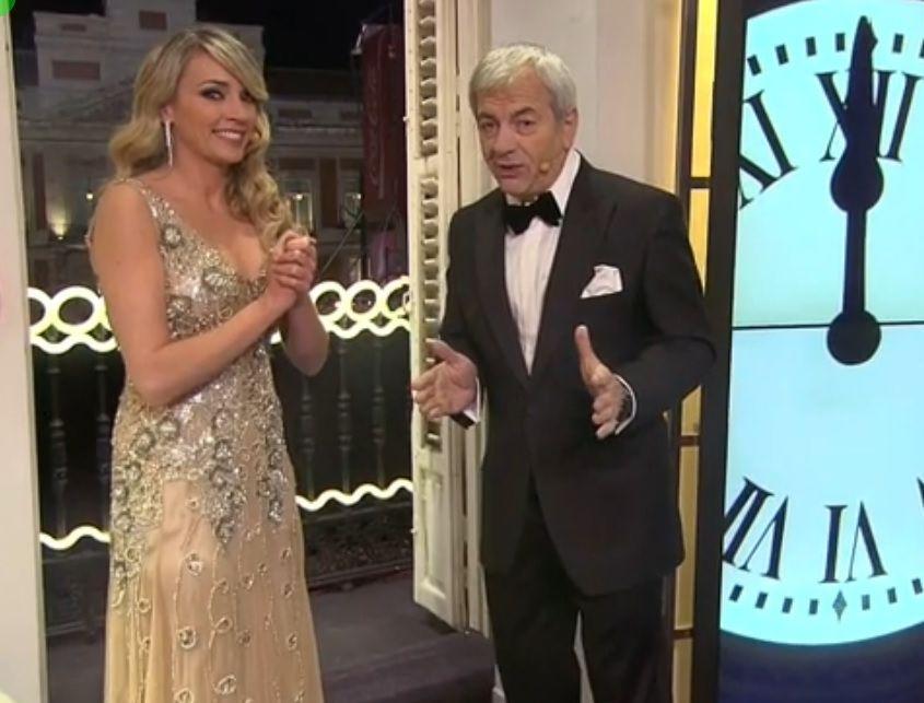 Anne Igartiburu y Ramón García darán las campanadas en La 1 de TVE.