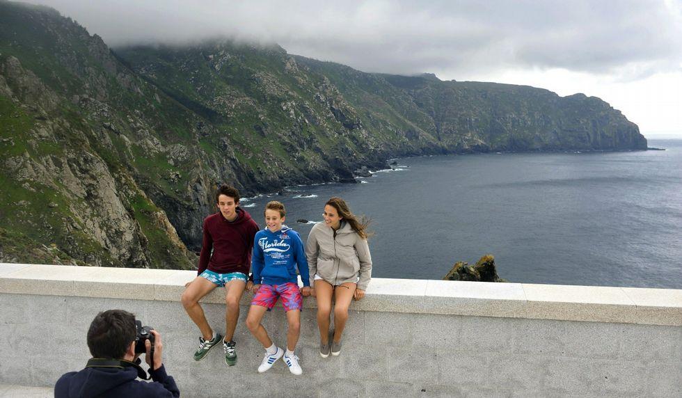 Cabo Ortegal, Cariño, uno de los lugares más visitados.