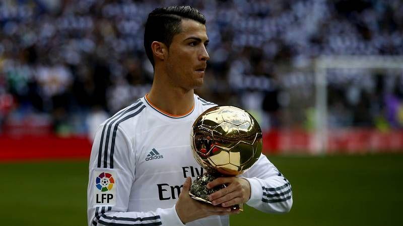 Expediente Bale.Cristiano ofreció su Balón de Oro