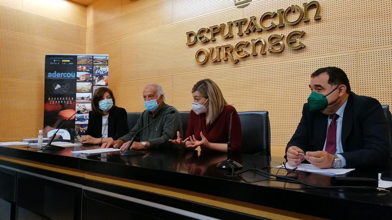 Uno e los registros que se llevaron a cabo el miércoles en Monforte dentro de la operación Pensa