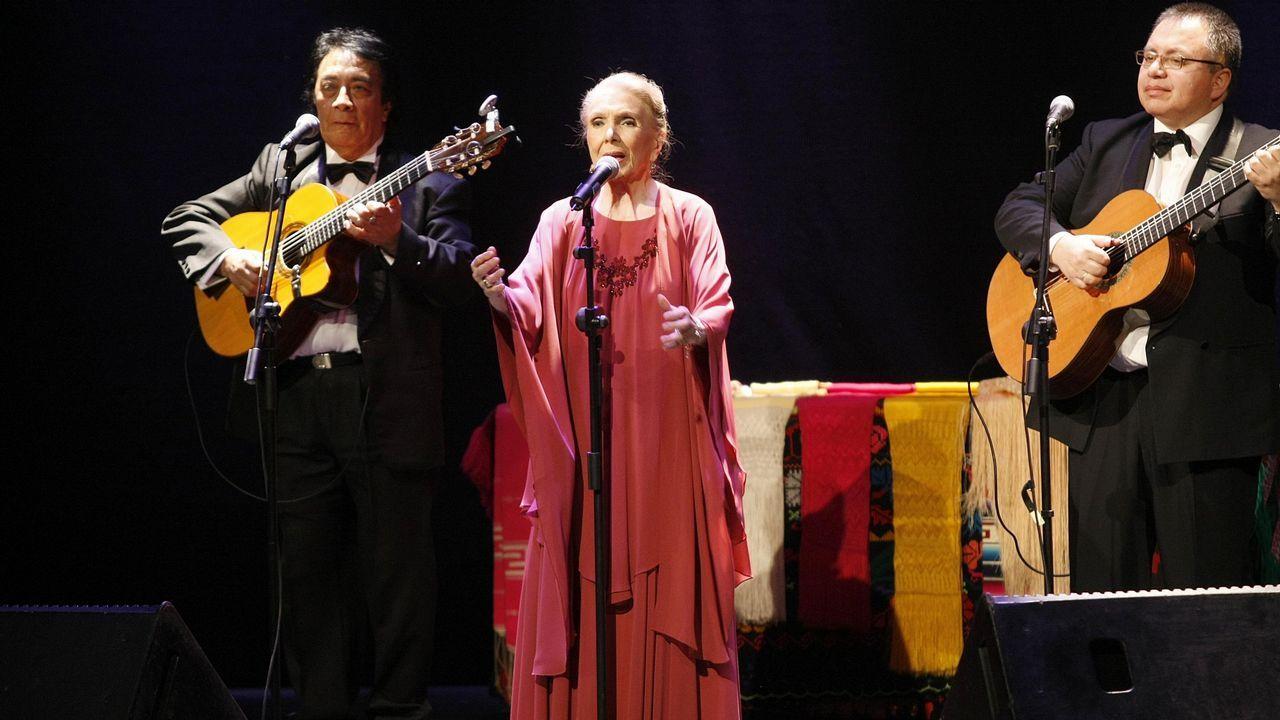 Maria Dolores Pradera en A Coruña en el 2010