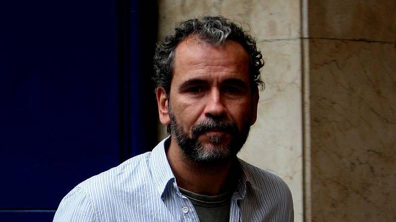 Willy Toledo: «No vivimos en una democracia».Alberto San Juan y Willy Toledo, en «El montaplatos».