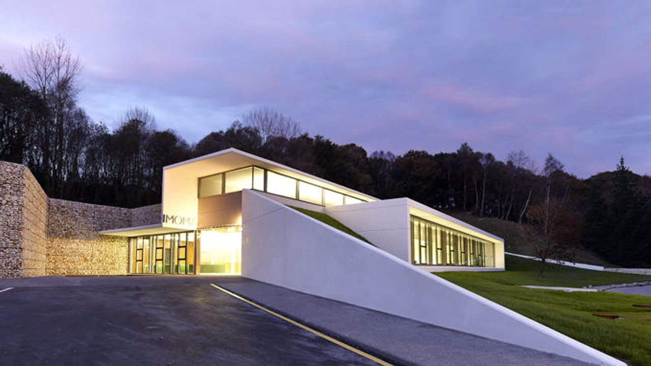 Edificio en el que se ubica el Instituto de Medicina Oncológica y Molercular de Asturias (IMOMA)