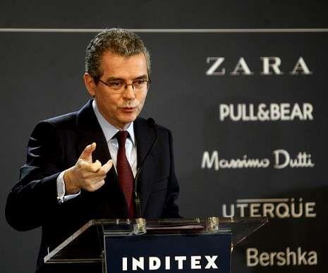 Isla presentó ayer en Madrid las cuentas de Inditex.