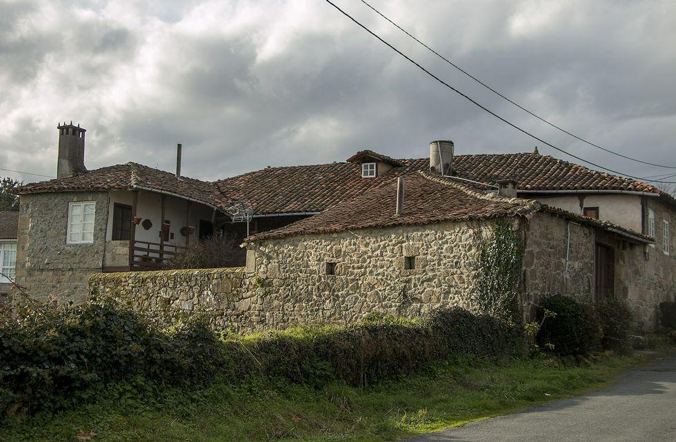La Casa do Curro es una vieja vivienda hidalga