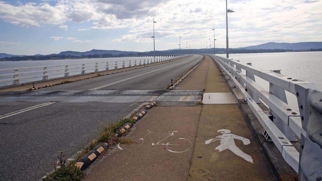 Puente de A Illa de Arousa.