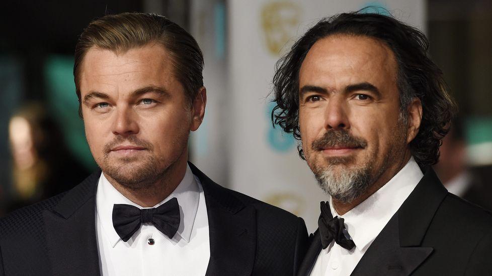 Leonardo DiCaprio y Alejandro González Iñárritu.