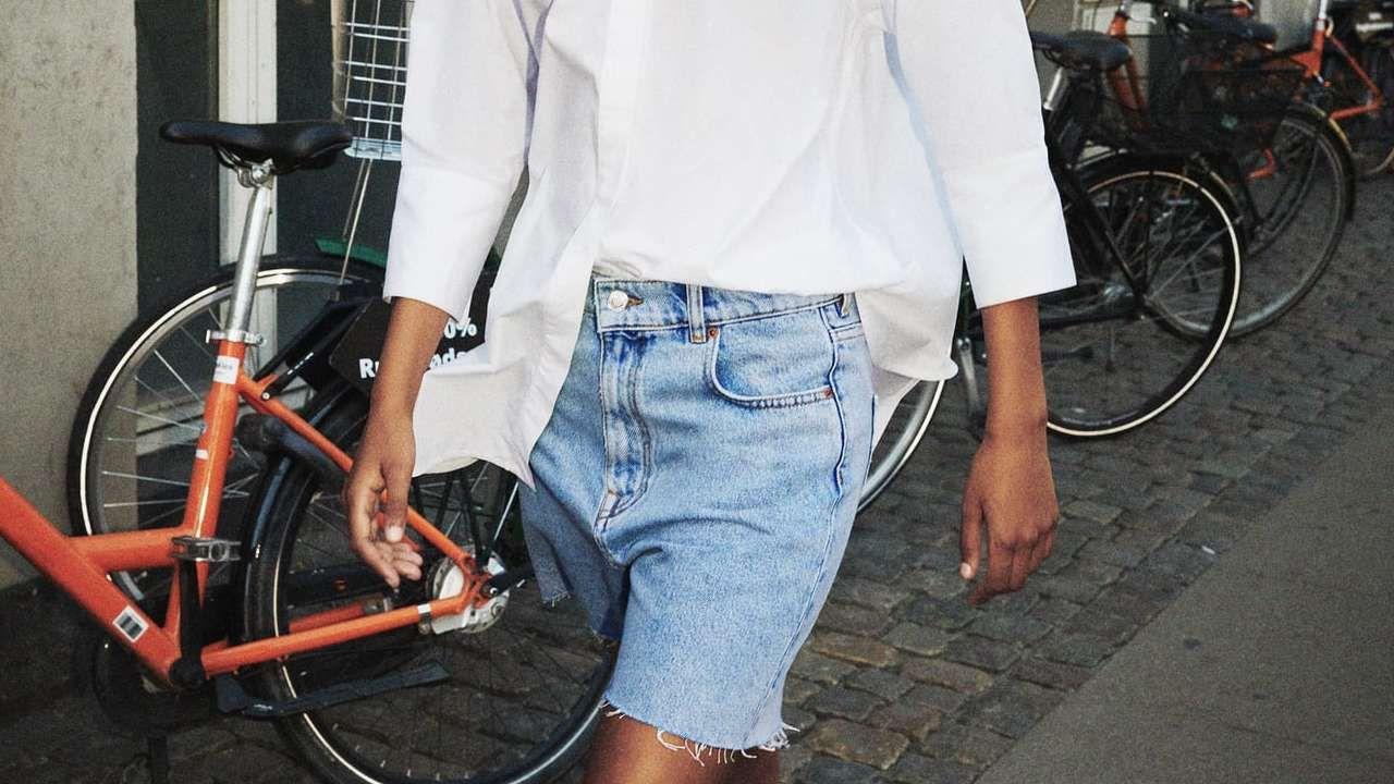Uno de los diseños de Zara de esta versión del nuevo short del verano