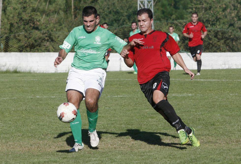 Los futbolistas del Bóveda pusieron punto y final a la temporada oficial ante el Muimenta.
