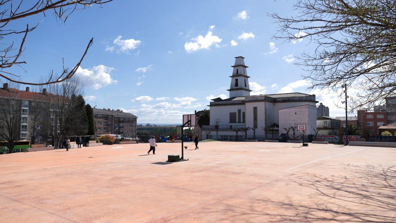 Parque y plaza de Vilaboa