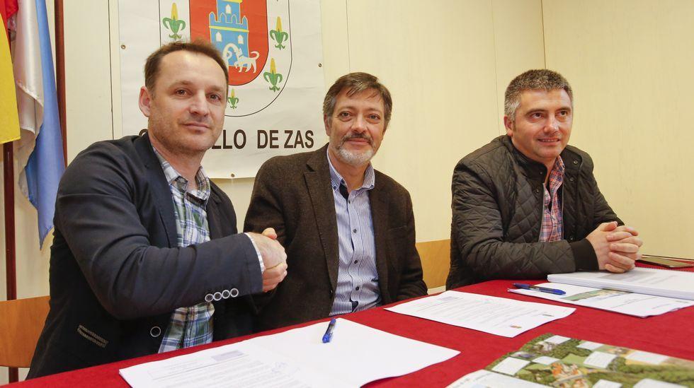 Firmado el convenio de gestión de las Torres do Allo