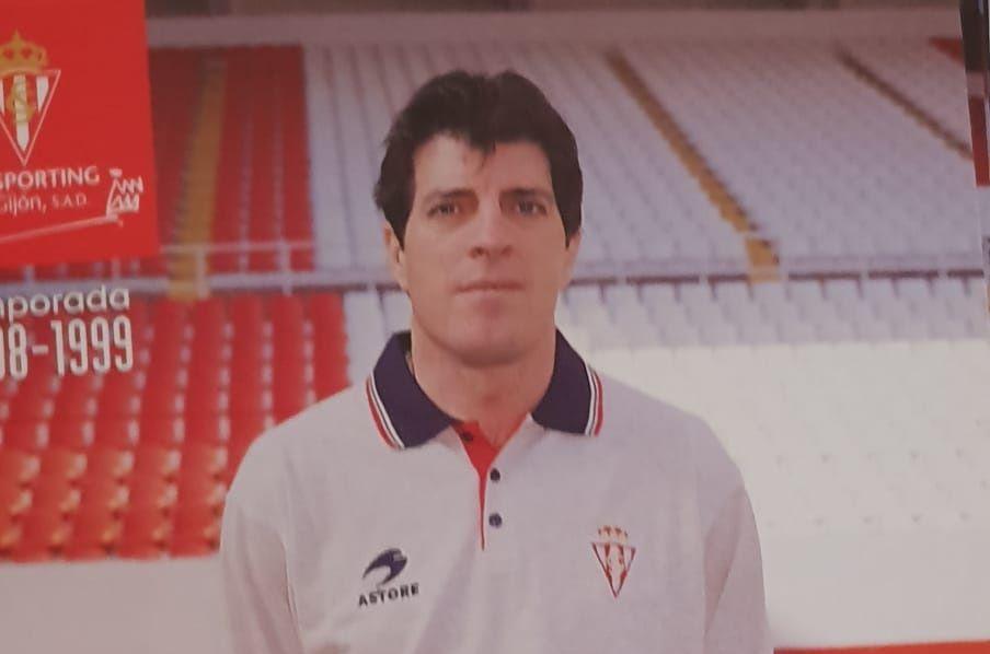 Pedro Braojos en su época del entrenador del Sporting