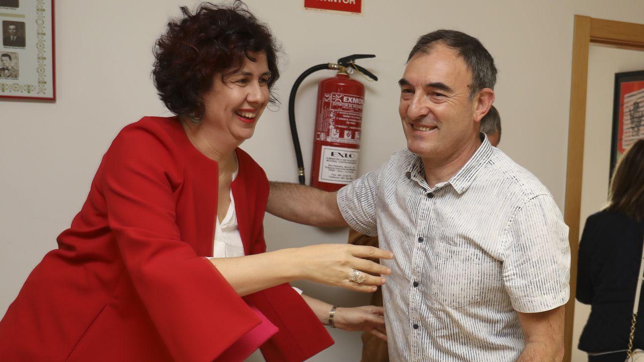 Pedro Sánchez y Pablo Iglesias se reunieron este martes en el Congreso de los Diputados