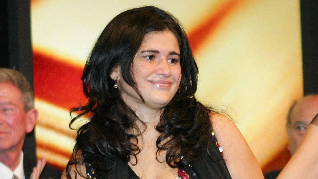 La escritora Lucia Etxevarria