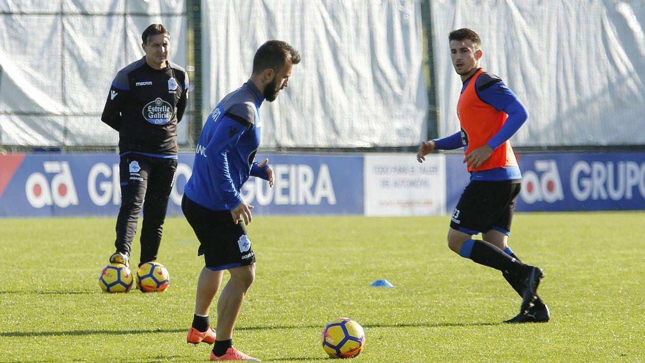 Último entrenamiento antes de recibir al Valencia