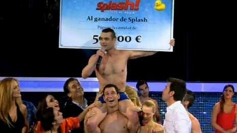 «Torrente V: Operación Eurovegas» ya está aquí.El gimnasta olímpico Gervasio Deferr fue el vencedor de «Splash!».