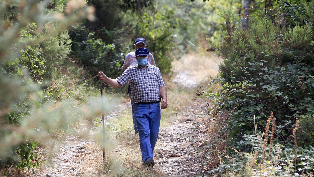 El lugar en el que desapareció es un monte de cientos de hectáreas, frondoso y escarpado