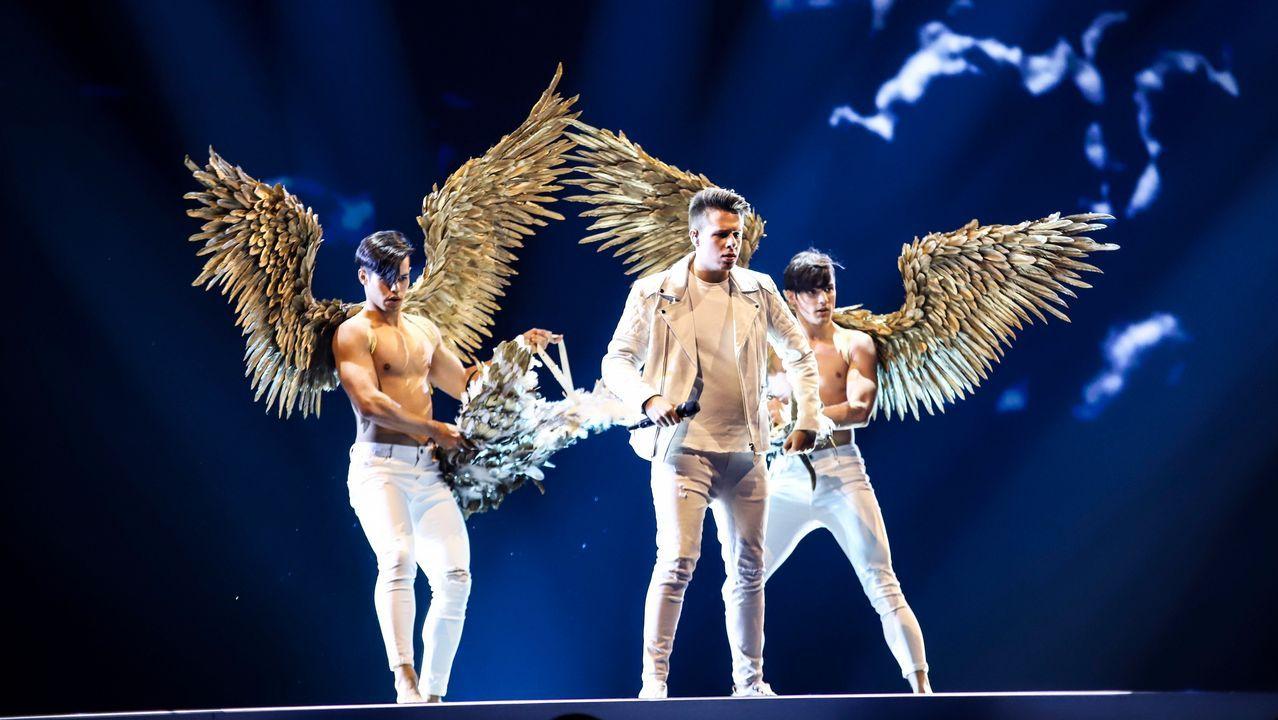 Las imágenes de los ensayos.Uno de los ensayos de Eurovisión 2019
