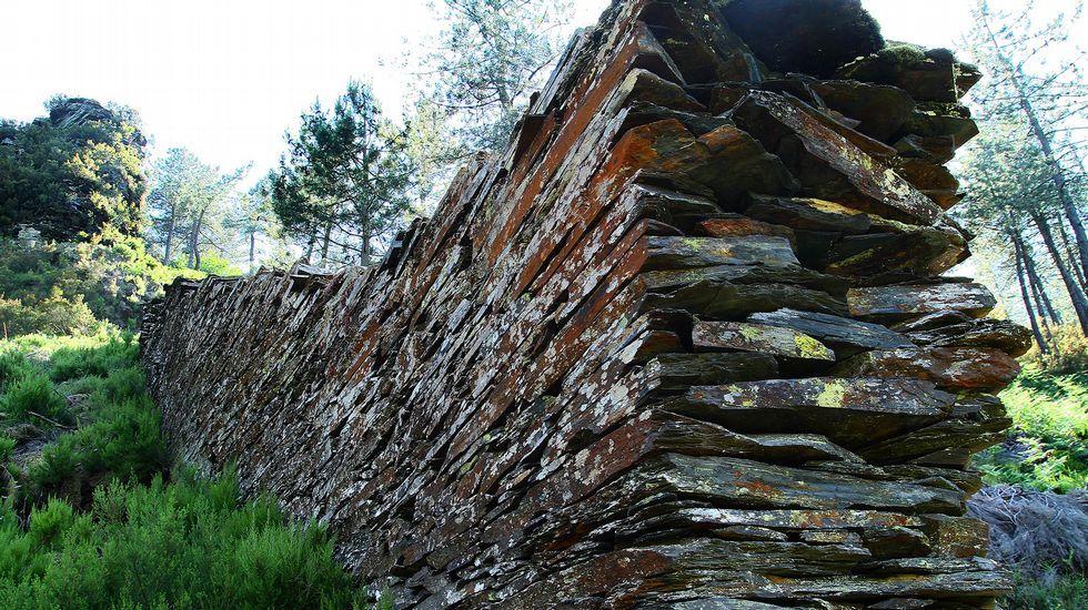Un recorrido visual por la Ruta do Ferro de O Incio.Las excavaciones se llevan a cabo en el lugar de Os Conventos, cerca de la orilla del Sil