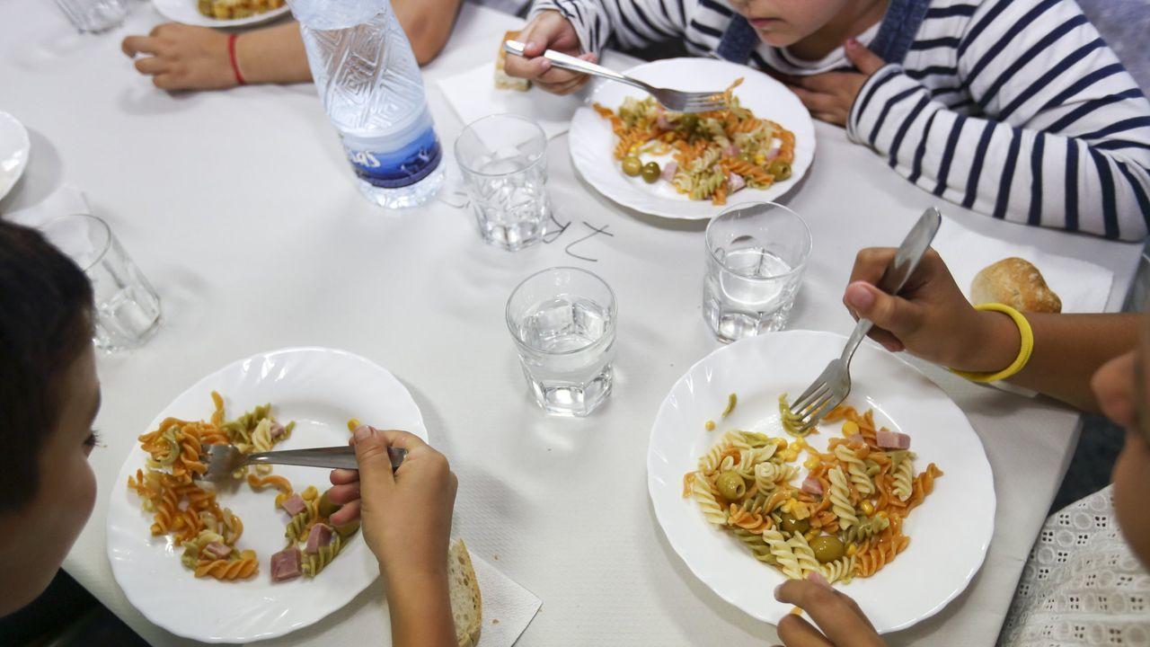 Imagen de un comedor escolar. Fue tomada antes de la crisis sanitaria