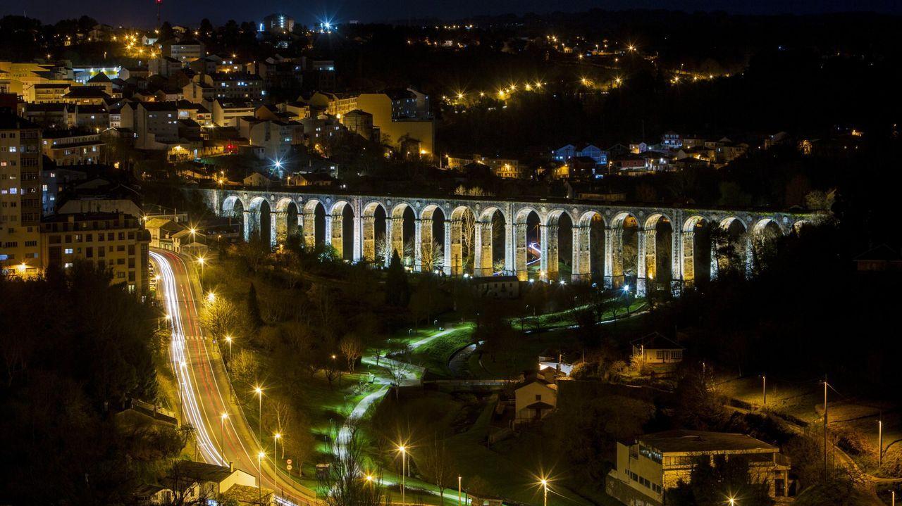 Las asociaciones de vecinos de Lugo llevan años poniendo en valor este viaducto
