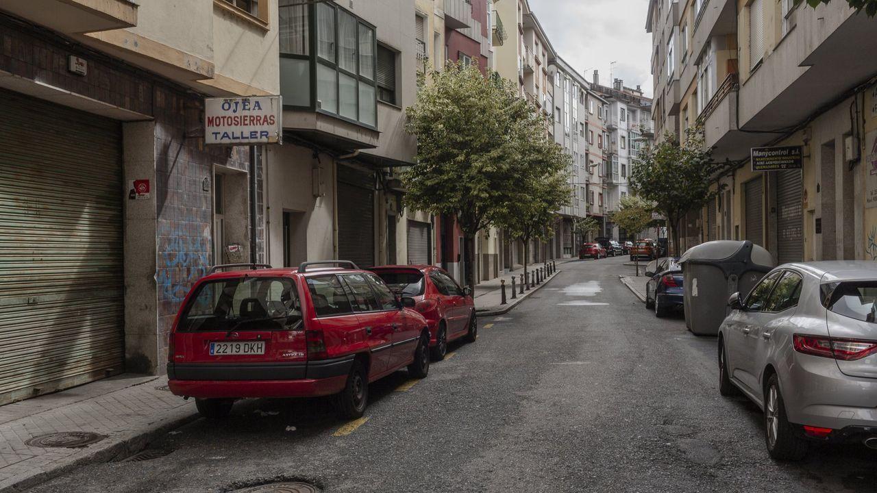 El barrio de O Couto fue la primera zona de la capital donde se impusieron restricciones