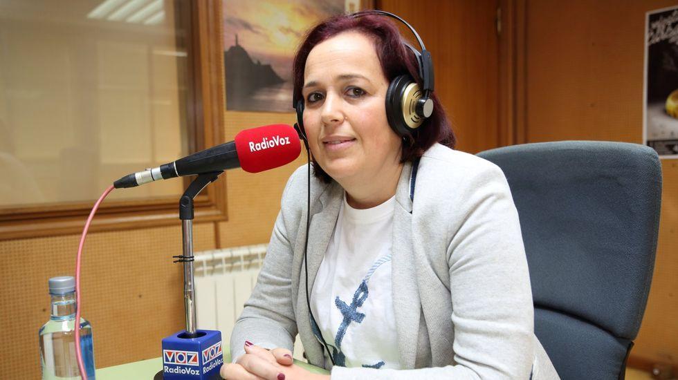 inundaciones gijon temporal frio lluvia asturias.Insua, en una visita a Radio Voz, antes de la pandemia