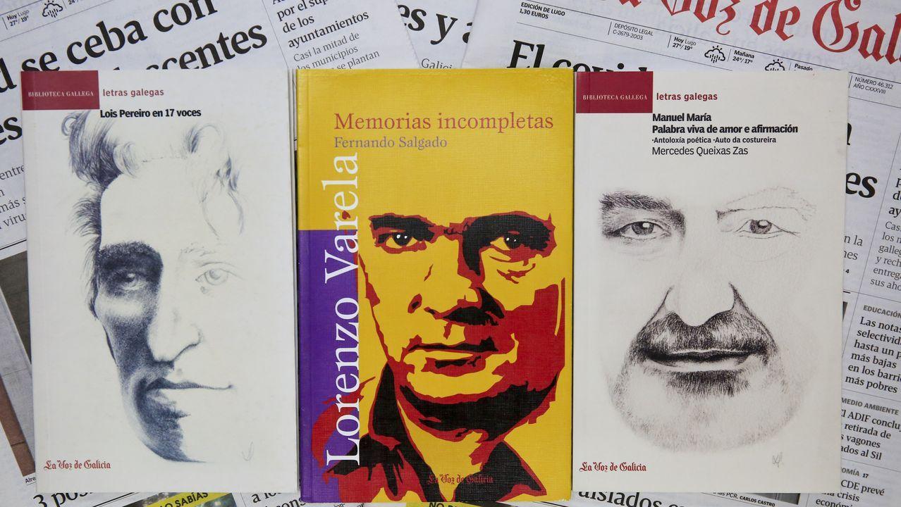 Os tres libros que ofrece La Voz de Galicia nas tres edicións de Lugo desde este domingo
