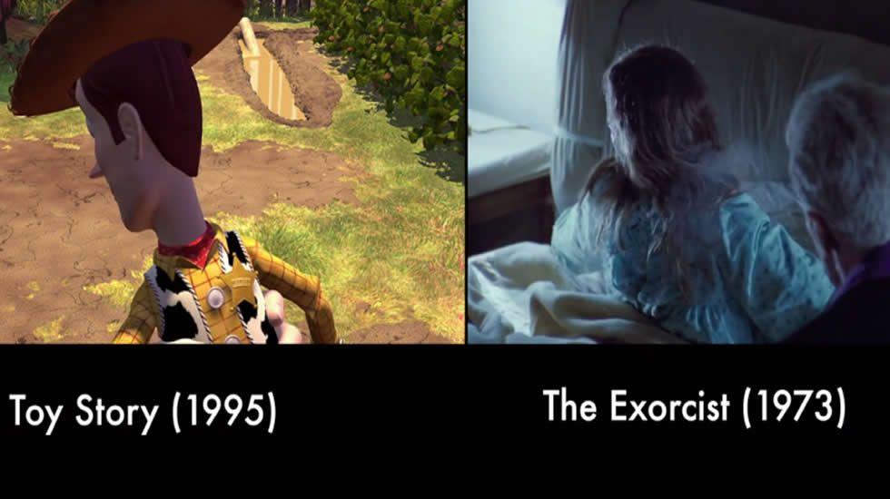 El tributo de Pixar al mundo del cine.El Novocine de Leiro, en una fotografía de archivo, ofrece dos películas