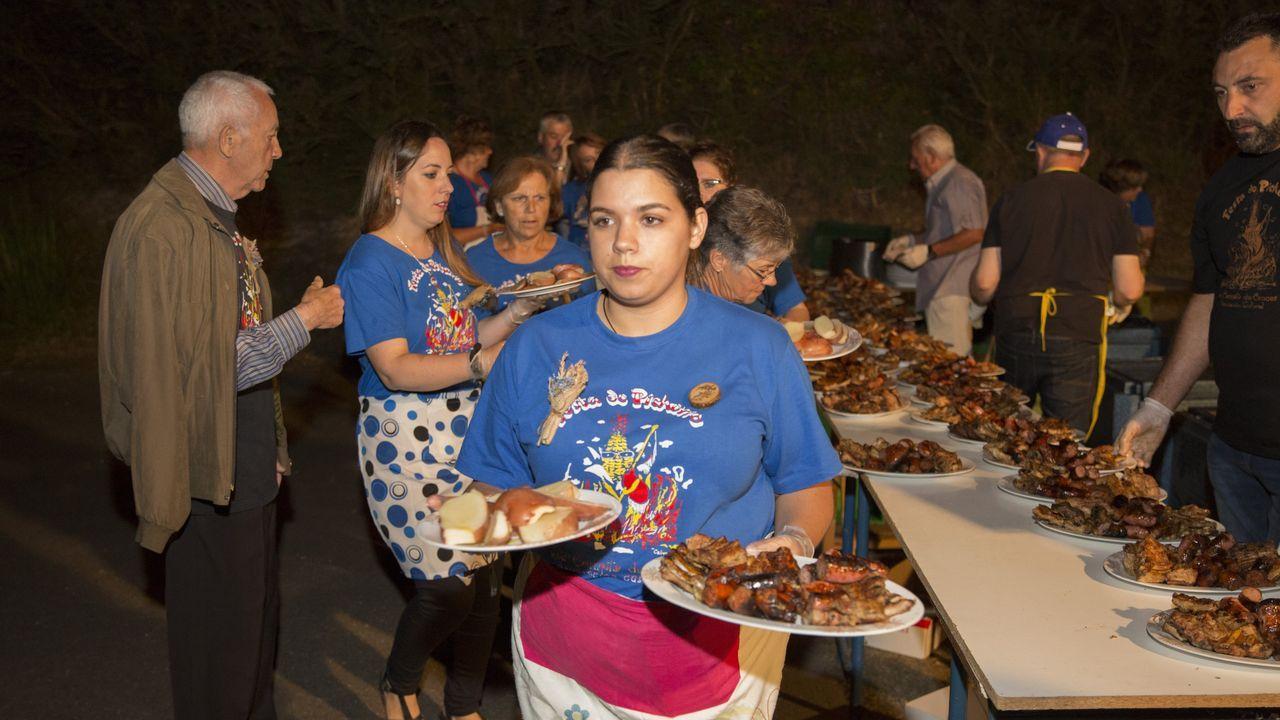 ¡Mira cómo fue la Festa do Pichorro de Cances, en Carballo!.Versión Imposible