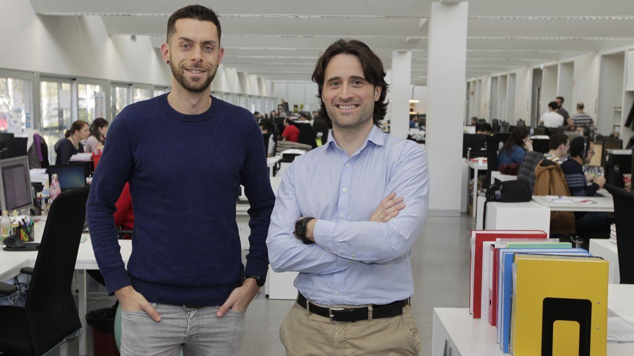 Presentación de las nuevas innovaciones de red deVodafone en Galicia.Banda ancha