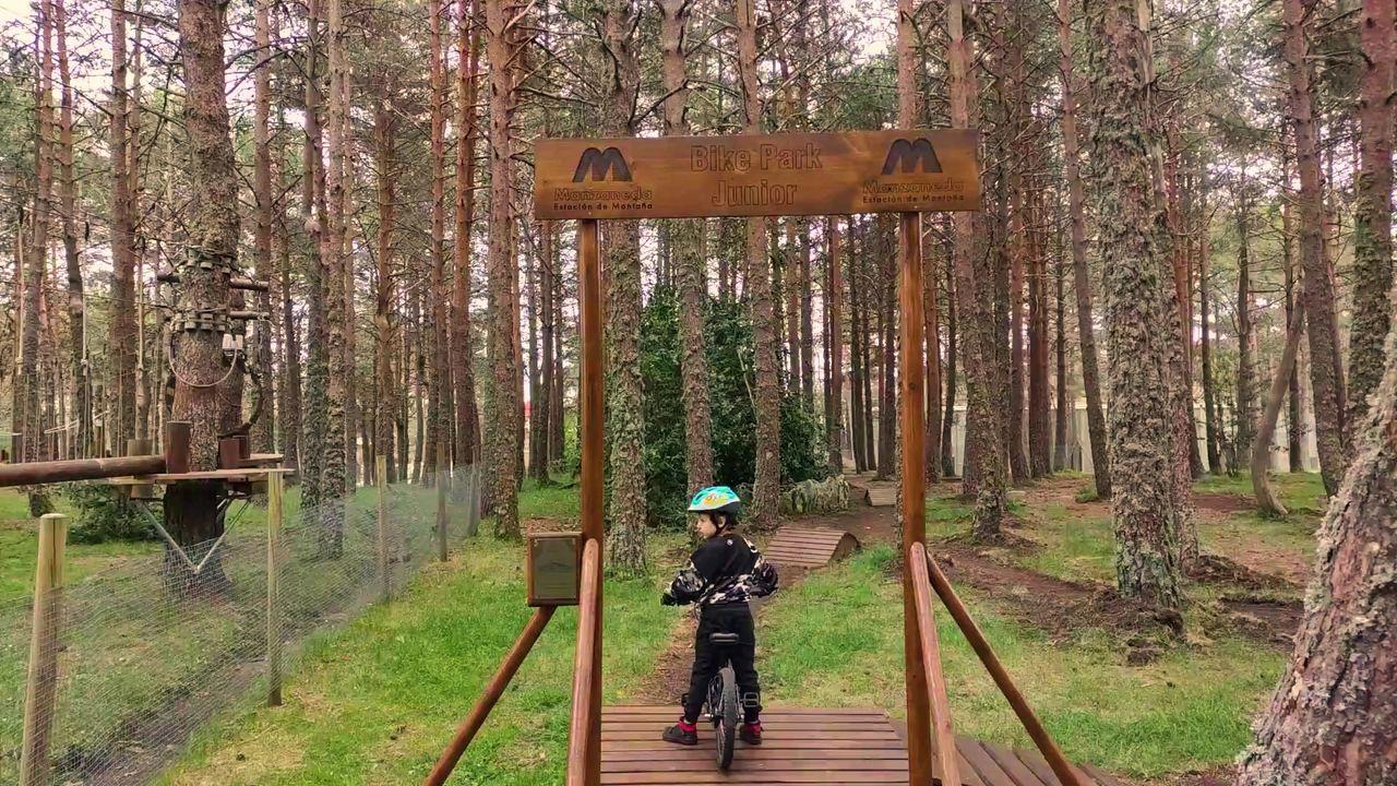 El nuevo Bike Park Junior de Manzaneda