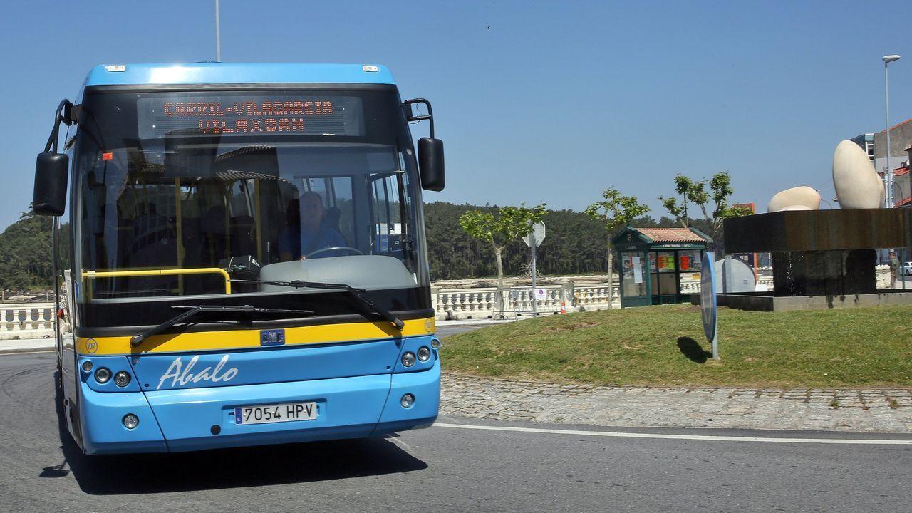 El nuevo autobús híbrido de Emtusa