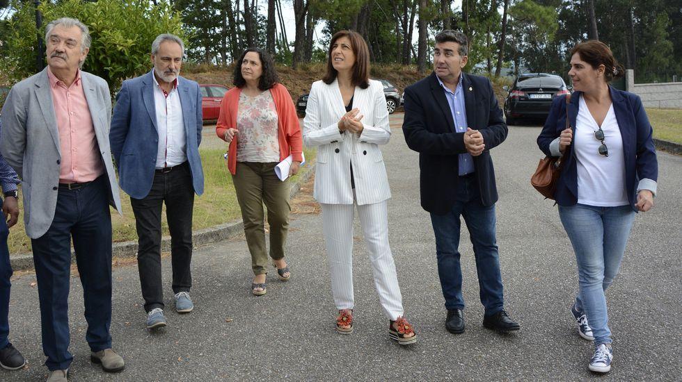 Los trabajos de la Escola de Cantería llegan a laReina Leticia o a la Sagrada Familia