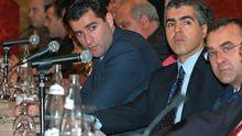 Paco Sanz, a la izquierda
